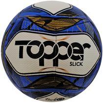 Bola Futsal Slick Branco/Azul - Topper - Arqueiro