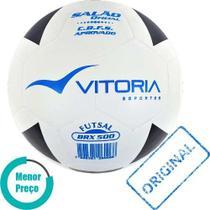 d9caa550224c0 Bola Futsal Vitória Oficial Vulcanizada Brx 500 - Original - Vitoria  esportes