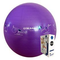 Bola Ginástica Profissional Gym Ball 55cm - Azul Esportes