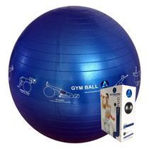 Bola Ginástica Profissional Gym Ball 65cm - Azul Esportes