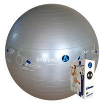 Bola Ginástica Profissional Gym Ball 75cm - Azul Esportes
