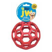 Bola Holee Roller JW Vermelha M -