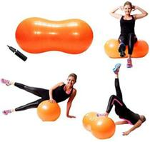 Bola Inflável Feijão para Exercícios Pilates Ginástica Hidrolight FL26 Anti Estouro - Hidroligth