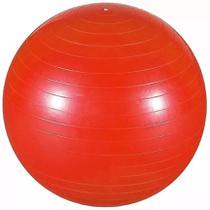 Bola Inflavel Pilates 55cm Vermelha Branca Academia Fitness - Western