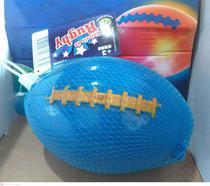 Bola Macia Estrela Do Rugby Com Luzes Dtc Azul Unidade -
