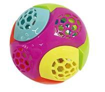 Bola maluca com cordão + som e luz colors - Toys