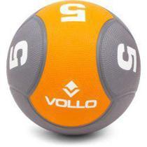 Bola Medicine Ball 5kg - Cross Fitness Treinamento Funcional - Vollo