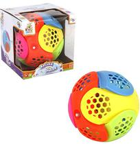Bola Musical Infantil Super Maluca Colors Com Luz A Pilha Na - Wellmix