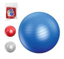 Bola para exercícios ginástica pilates yoga 65cm - Western
