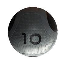 Bola para Exercicios Medicine Ball MD Buddy 10KG MD1275 Cinza - Mdbuddy