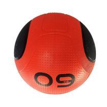 Bola para Exercicios Medicine Ball MD Buddy 9KG MD1275 vermelho - Mdbuddy