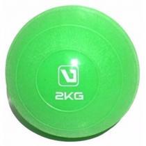 Bola Peso Tonificadora - Soft Ball Pilates Funcional - 2kg LiveUp - Liveup Sports