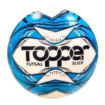 Bola slick futsal topper 5165 azul -