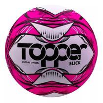Bola slick futsal topper 5166 rosa -