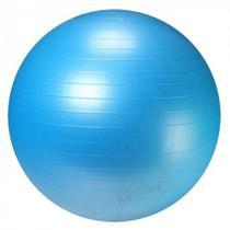 Bola Suica 65 Cm para Pilates e Yoga Premium Anti Estouro Cor Azul  Liveup -