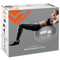 Bola Suíça 75 Cm Ginástica Pilates Yoga Vollo Com Bomba -