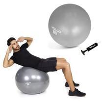 Bola suica de ginastica e pilates 65cm com bomba vollo -