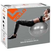 Bola Suíça Ginástica Pilates Com Bomba 65cm Até 300kg Vollo -