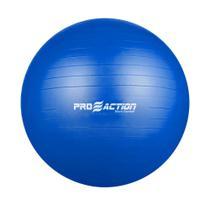 Bola Suíça Ginástica Pilates Yoga C/ Bomba - Pro Action 85cm G357 - Proaction