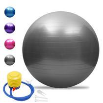 Bola Suíça Ginástica Pilates Yoga C/ Bomba - Profissional 85 - Lupan