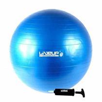 Bola Suíça para Pilates com Bomba de Inflar Live Up - 65cm Premium - Liveup