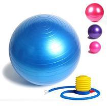 Bola Suiça Pilates Yoga Abdominal Anti Estouro 65cm Gym Ball - Amvshop7