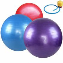 Bola Suiça Pilates Yoga Abdominal Fitnes 65cm - Biashop