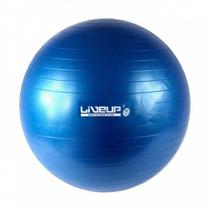 Bola suiça s - 65cm - azul - liveup sports -