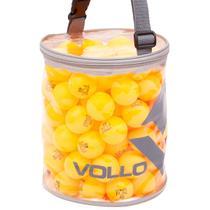 Bola Tênis de Mesa Vollo VT609 Fun 40 Table Tennis com 100 Unidades Laranja -