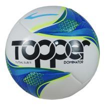 Bola Topper Futsal Sub 11 Fusion Pvc 6 Gomos Dominator -