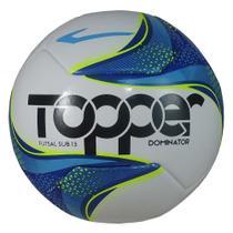 Bola Topper Futsal Sub 13 Fusion Pvc 6 Gomos Dominator -
