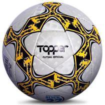 Bola Topper Slick 22 Futsal Quadra Salão Costurada a Mão -