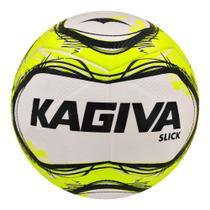 Bola Topper Slick Kagiva Futsal Amarelo Neon e Preto -Topper -