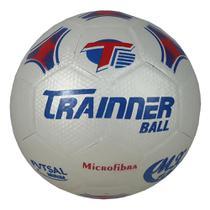 Bola Trainer Futsal S/c Maxi 100 Microf. Sub 11 Branca -