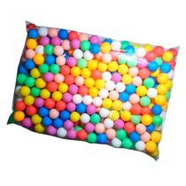 Bolas / Bolinhas De Ping Pong Colorida Pacote C/100 Unidades - Horizonte