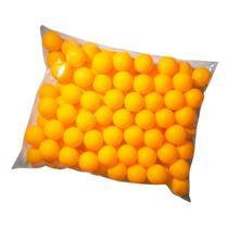 Bolas / Bolinhas De Ping Pong Laranja Pacote C/50 Unidades - Horizonte