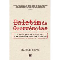 Boletim de ocorrências - Scortecci Editora -