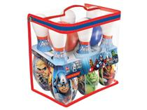 Boliche Infantil Marvel Avengers Assemble 8 Peças - Lider Brinquedos -