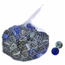 Bolinha Bolão de Vidro Bola de Gude Grande 2 cm Ø - Pacote com 150 Unidades - Kopeck
