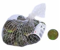 Bolinha Bolão de Vidro Bola de Gude Grande 3 cm Ø - Pacote com 20 Unidades - Kopeck