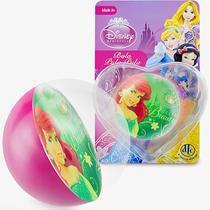 Bolinha de Silicone Importada Sereia Ariel Princesas Disney - Dtc