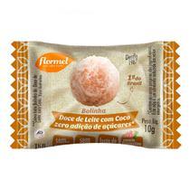 Bolinha Doce de Leite com Coco Flormel Zero Adição de Açúcares 10g -