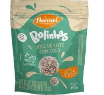 Bolinha Doce de Leite Zero Açúcar Lactose 60g - Flormel