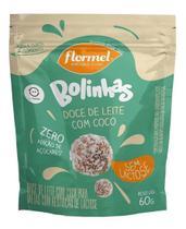 Bolinha Doce Leite Coco Zero Lactose Flormel - 120g -