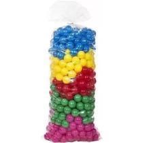 Bolinhas coloridas para piscina 500 unidades - Natalplast