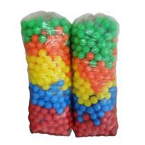 Bolinhas De Piscina Coloridas Pacote Com 200 Bolinhas - Valentina Brinquedos