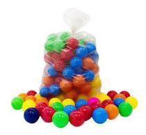 Bolinhas De Plástico Para Piscina Infantil Kit com 50 Coloridas Sortidas - Mariplast