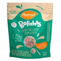 Bolinhas Doce de Leite com Coco Flormel Sem Lactose 60g -