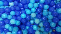 Bolinhas para Piscina 500 unidades Azul - World Toys
