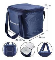 Bolsa 10 Litros Térmica Para Bebidas Lanche Praia Camping Viagem Bag Freezer - Azul - Sunflower